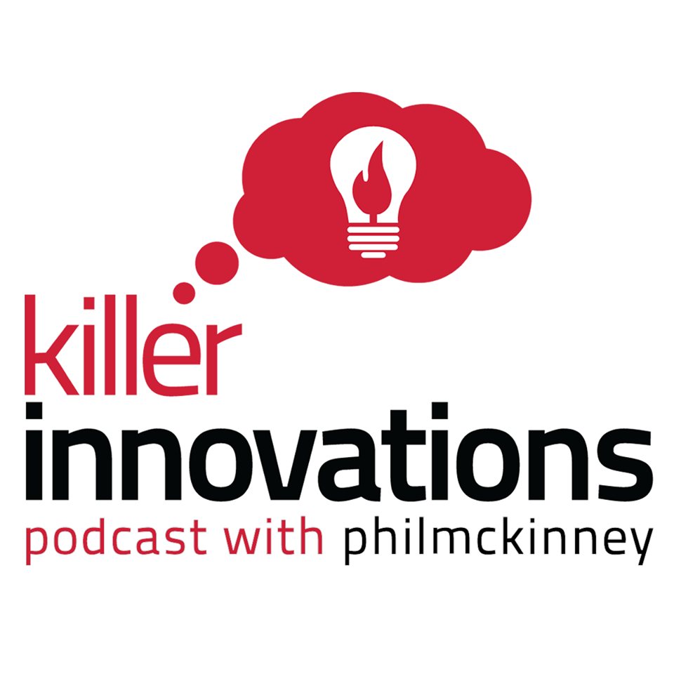 Killer Innovations Podcast Show with Phil McKinney logo