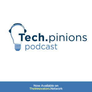 techpinions podcast logo